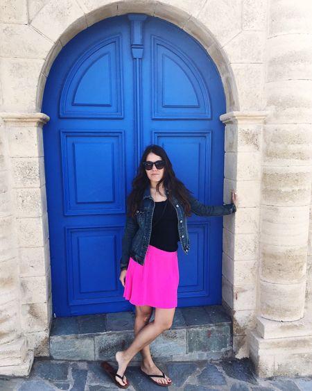 Door Greece Doorporn Young Women Vacation Traveling Ródos Rhodes Lachania The Architect - 2016 EyeEm Awards Street Fashion Girl