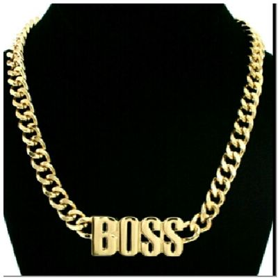 BO$$ Necklace NikkiesKorner.com