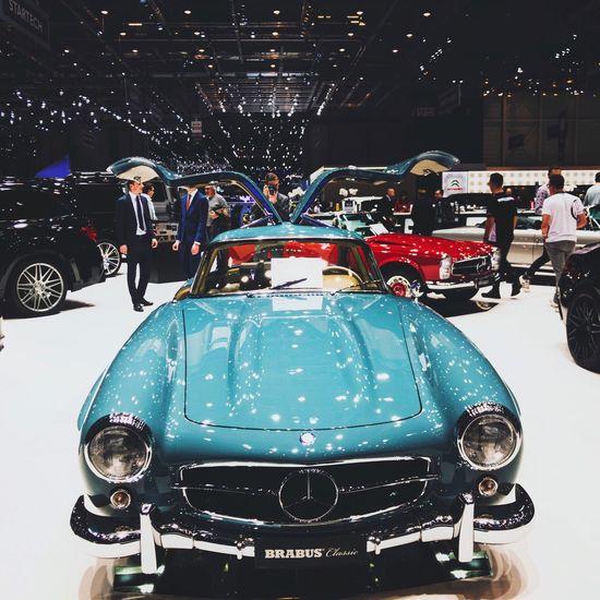 Autosalon Genf Car Mercedes-Benz Gullwing First Eyeem Photo EyeEmNewHere