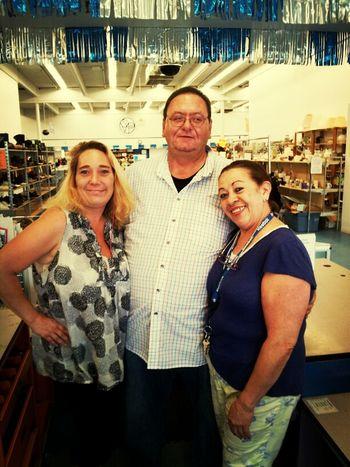 Melinda ,Zoila & Scott At My Store