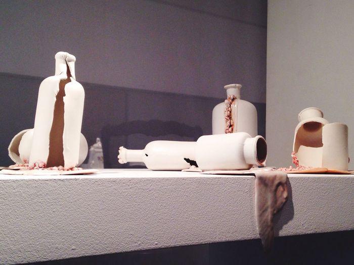 Fantastic Exhibition Discovering Great Works Art Medicine Broken Mess Broken Glass Modern Art
