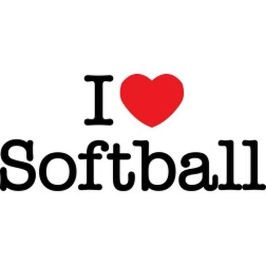 I Love Softball <3 ~