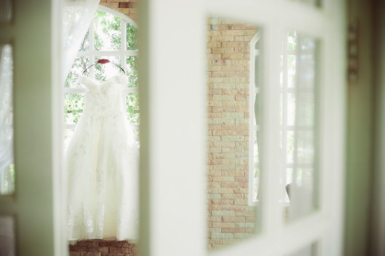 Indoors  Window Curtain No People Close-up Home Interior Drapes  Day Dress Dresses Dressing Room Weddding Dress Bridedress Bride Dress Bride Wedding Wedding Photography Window View Windows