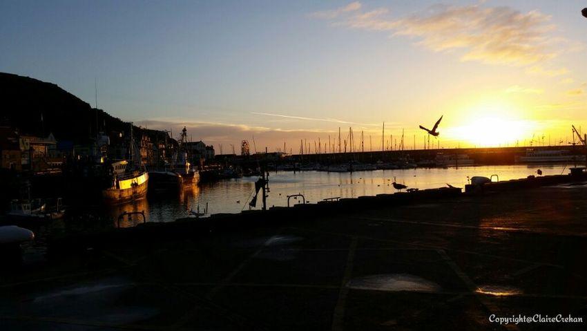 EyeEm Best Shots EyeEm Gallery Scarborough Castle, South Bay And Harbour. EyeEm Best Shots - Sunsets + Sunrise