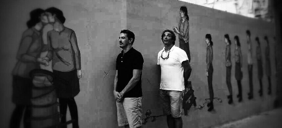 En cola Street Ruzafa Valencia, Spain Graffiti Graffitti Graffiti Art Grafity Grafitti Mural Mural Black & White This Is Masculinity