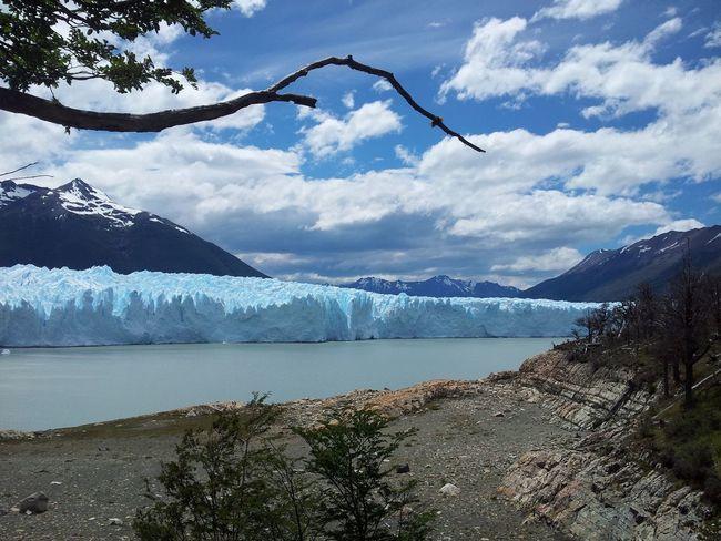 Beauty In Nature Cloud Landscape Perito Moreno Glacier Scenics Sky Snow Tree Water Glacier Blue Wave