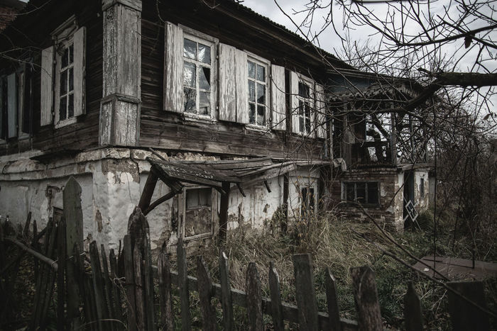 old house Ramshackle Abandoned Architecture Autumn Building Exterior Built Structure Cossacks EyeEmNewHere History House Nikon Nikonphotography No People Outdoors Places Rainy Days Ruin Russia Sight Travel Travel Destinations Tree Trip EyeEmNewHere