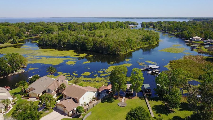 Lake Harris lagoon DJI Mavic Pro drone photo Architecture Bass Fishing Beauty In Nature Building Exterior Day Drone  Florida Green Color High Angle View Lake Lake Harris Leesburg Mavic Pro Nature No People Outdoors Scenics Sky Tree Water