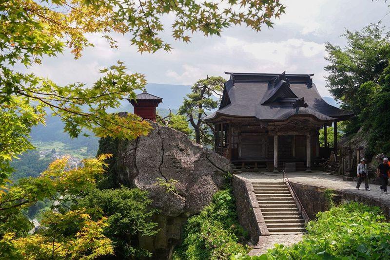 Yamadera 山寺 Japan YAMAGATA Landscape Sightseeing Temple