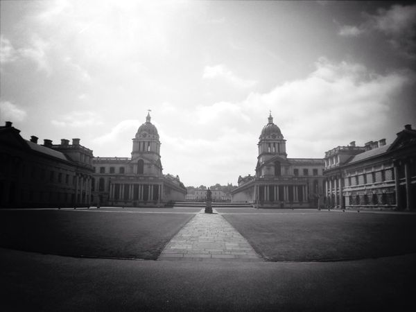 Old Royal Naval College In The Mean Time EyeEm London Meetup Symmetrical