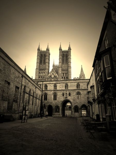 Architecture Cathedral Gothic Style Lincoln Lincoln Cathedral Lincolnshire Medieval Place Of Worship Travel Destinations Tourism Famous Place Famous Landmarks Lincoln City Sepia_collection Sepia Sepia Photography EyeEm Best Shots - The Streets EyeEm Best Shots - Architecture EyeEm Gallery Street Photography Lincolncathedral EyeEmBestPics EyeEm Best Shots Religious Architecture Streetphotography