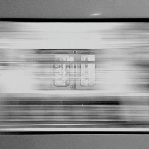Light speed! Metro Berlin Blackandwhite Public Transportation Ubahn Speed Capturing Motion