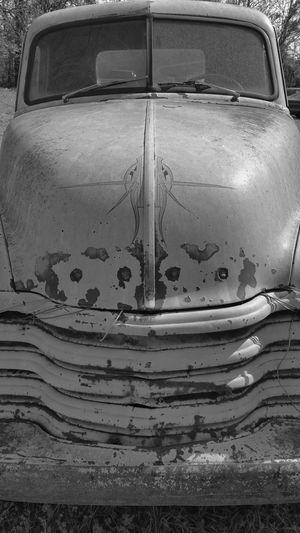 Art On Wheels Enjoying Life Old Truck Black And White Photography