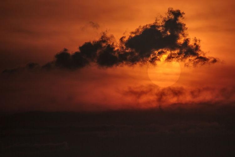 Idyllic Shot Of Orange Sky During Sunset