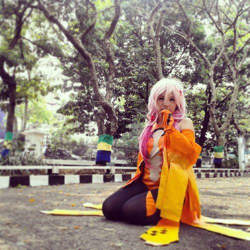 Inori Yuzuriha Cosplay at DVFest ID 2014 Photo Cosplay Anime Inoriyuzuriha latepost