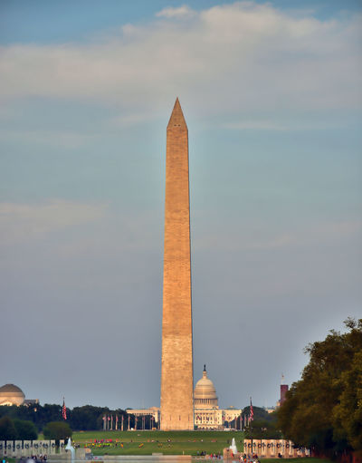 Architecture Built Structure The Past History Travel Destinations Monument Travel Memorial Sky Building Exterior Nature Tourism Tall - High Cloud - Sky Day City Incidental People Outdoors Architectural Column Government Washington Momument US Capitol Building Washington, D. C.