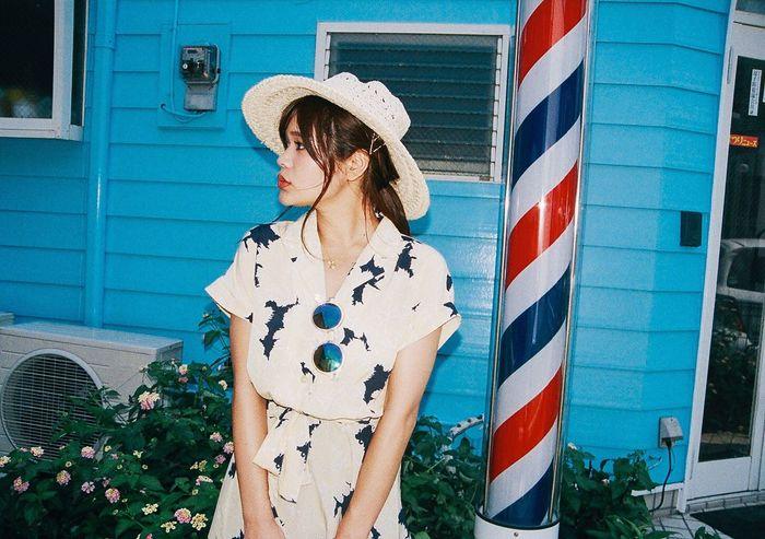 Fashion Girl Japanesegirl Tokyo Days Film Photography Filmisnotdead Filmphotographer Ultimate Japan Natural Light Portrait Red Lips Make Up Hairstyle