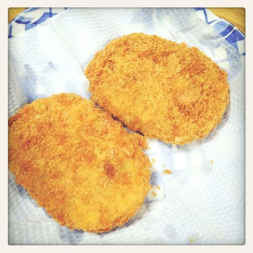 コロッケ Dinner tonight Dinner Time Croquette Meal Yummy