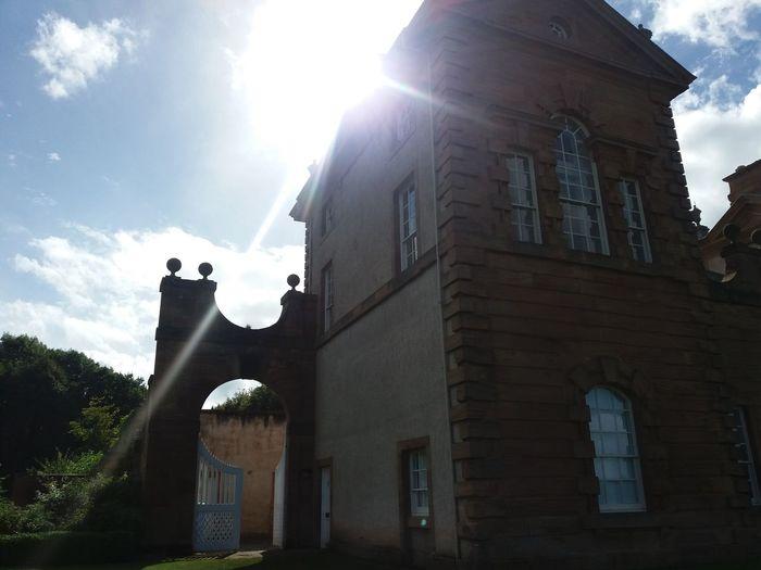 Chatelherault Country Park Sunbeam Scotland Historic Building Hunting Lodge