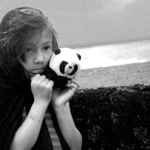 ..we met snow who took whywhy(the panda bear) everywhere n took pictures of him/her in all kinds of situations..well my daughter loved the idea and took the whole project under her wing.. ..we All Embrace.. ..we Blew This Day Away.. The Year Of The Mermaid....