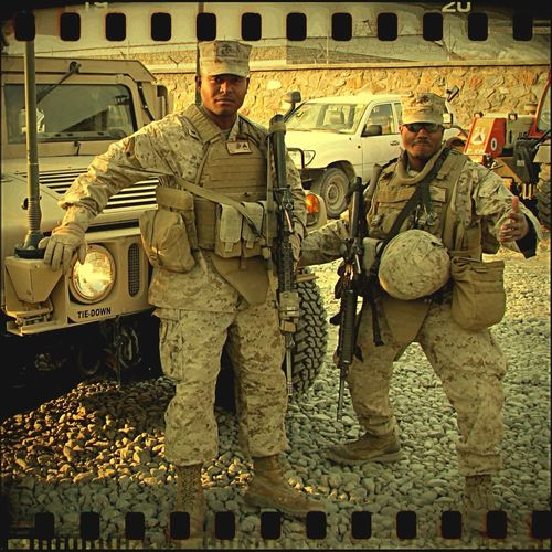 Chilling Just Chillin' Marines Afghanistan