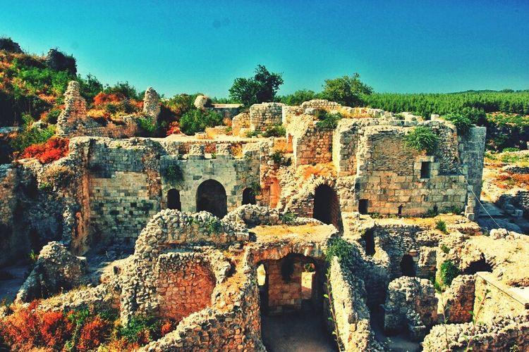 Castle Ancient Syria  Latakia  Salah Aldin