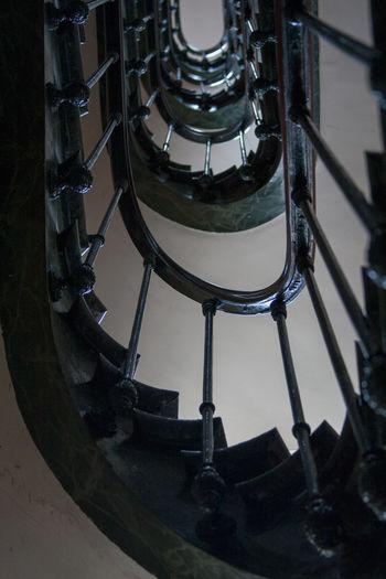 Stairway Stairways Spiral Staircase Paris ❤ Eyem Stairways