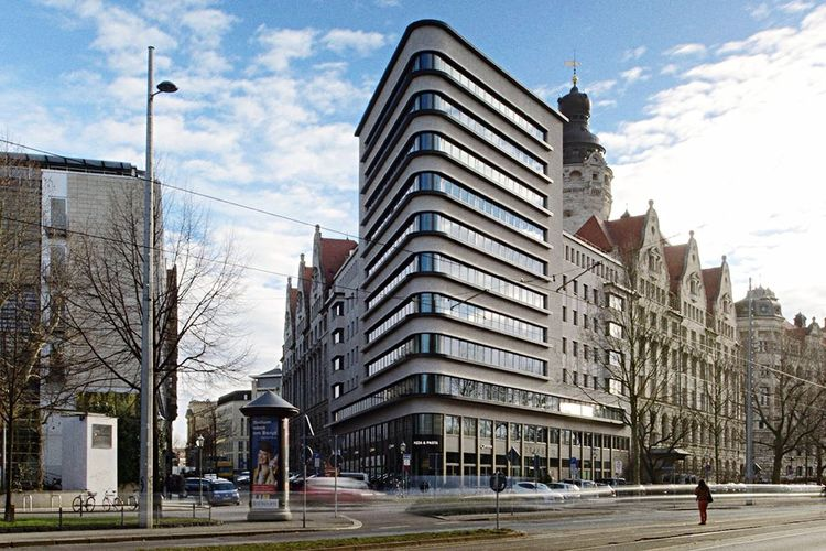 Trias Leipzig Leipzig Architektur Martin-Luther-Ring