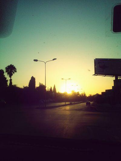 dernier coucher de soleil au ramadan Hanging Out