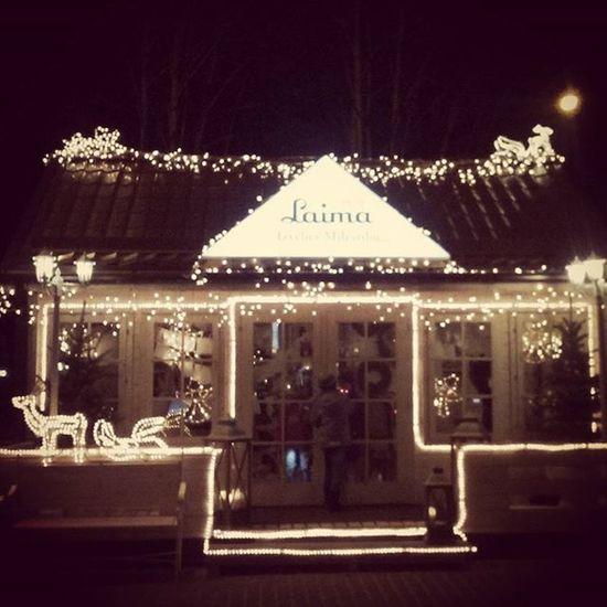 Christmas Ziemassvetki Christmaslights Gaismas Night Nakts Laima Riga Riga Latvia Latvija