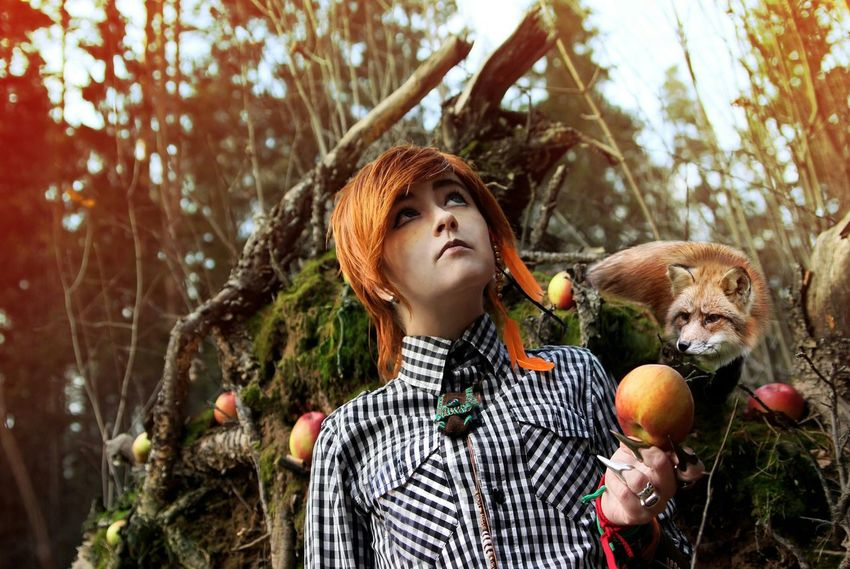 Model Portrait Russia Popular Photos Nuture Fox Foxy Autumn Red Beutiful