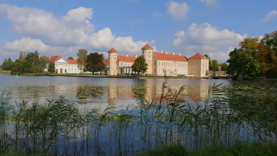 Brandenburg Castle Castle Park Historical Building Historical Sights Schloss Rheinsberg Water And Sky Architecture Beauty In Nature Building Exterior Built Structure Castle Grounds Castle View  Cloud - Sky Historical Place History Idyllic Scenery Lake Lakeshore No People Outdoors Reflection Reflections In The Water Water Waterside