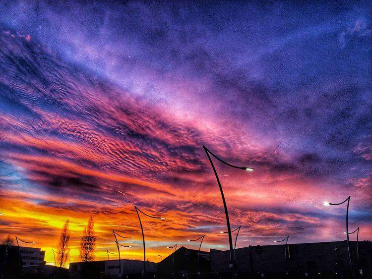 Sunset Cloud - Sky Dramatic Sky Scenics