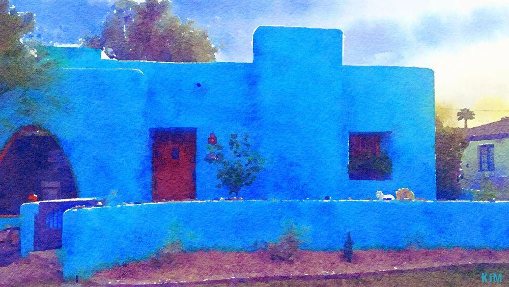 Architecture Blue Building Exterior Built Structure Day No People Outdoors