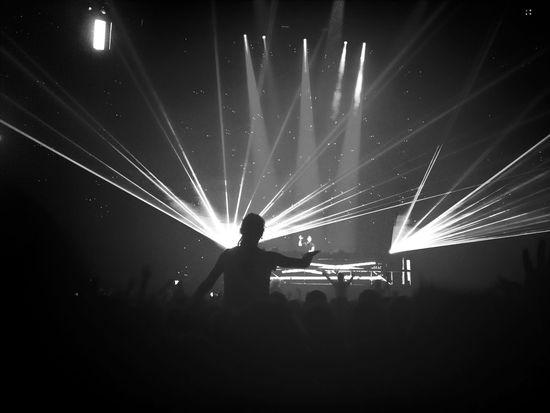 Hardwell's concert last week // Hardwell Party Lights