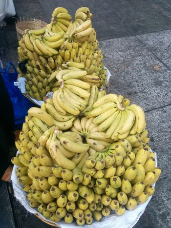 Food Food And Drink High Angle View Freshness No People Healthy Eating Ready-to-eat Close-up Indoors  Day Fruits Bananas For Sale