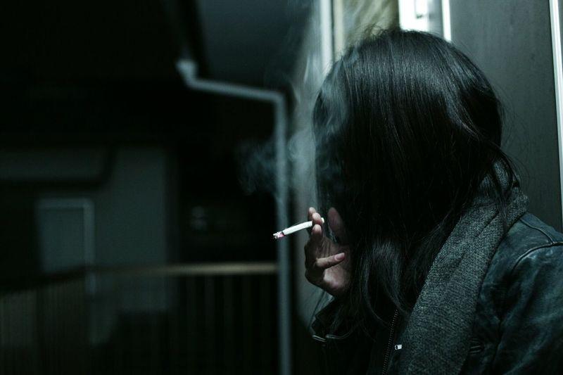 煙草 タバコ Cigarette  EyeEm Gallery Check This Out Mood Smoke 一眼レフ Photography Blackhair