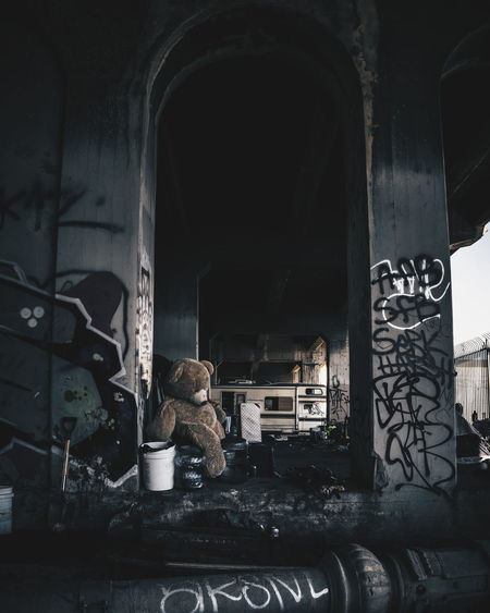 Interior Of Abandoned Room