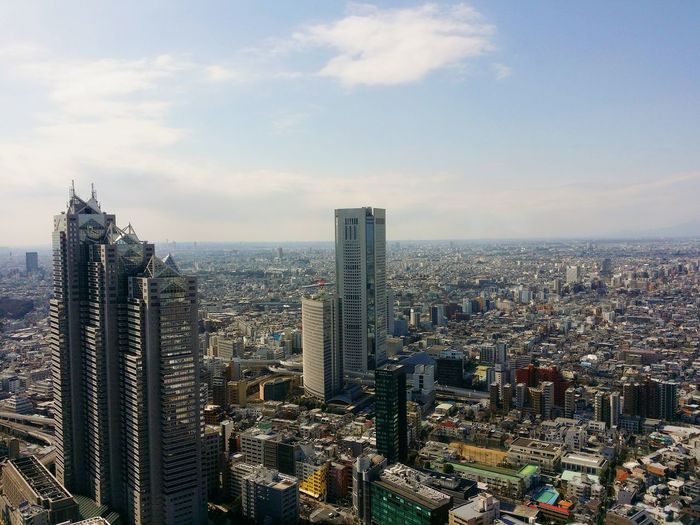 Skyscraper Sky Cityscape Architecture Outdoors No People Day City Photooftheday Photo Of The Day Japan Photography Travel Photography Magazinefeature Japan Photos Capture The Moment Travelphotography Building Exterior Built Structure City Life View From The Top Overlooking The City Viewofthecity