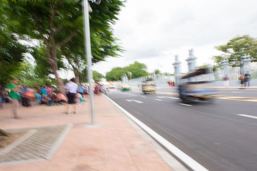 tuk tuk with motion blur Bangkok Fast Motion Motion Blur Motor Move Movement Outdoors Pan Pan Photography Road Sky Slow Shutter Slow Shutter Speed Street Thailand Traffic Travel Tuk Tuk Tuk Tuk In Bangkok