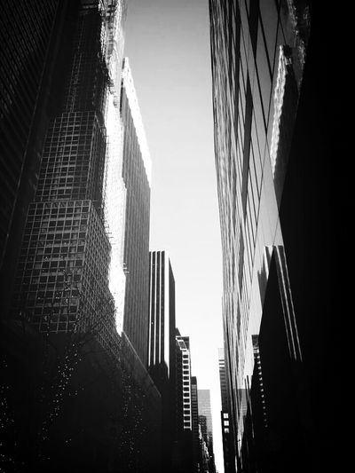 Manhattan Mas New Que York Building Light And Shadow The Best Of New York The Architect - 2015 EyeEm Awards The Street Photographer - 2015 EyeEm Awards New York Buildings