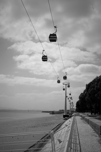 Cable Cars Sky And Clouds Low Tide Eye4photography  Eye4black&white  Trees Greenery EyeEm Lisbonlovers EyeEm Best Shots Blackandwhite Taking Photos Eyemphotography Black And White Urban Landscape Design Black & White EyeEmBestPics Lisbon Eyeemphotography Lisboa Portugal I Love My City Seeing The Sights My Best Photo 2015