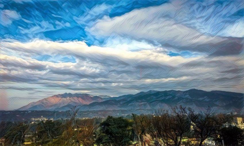 EyeEmNewHere Trikuta Hills Mountain Nature Cloud - Sky Mountain Range Mountain Peak Motog4plus Mobilephotography Udhampur JammuandKashmir Landscape Prisma Vashnodevi Beauty In Nature Tranquil Scene Long Goodbye BYOPaper! Colour Your Horizn