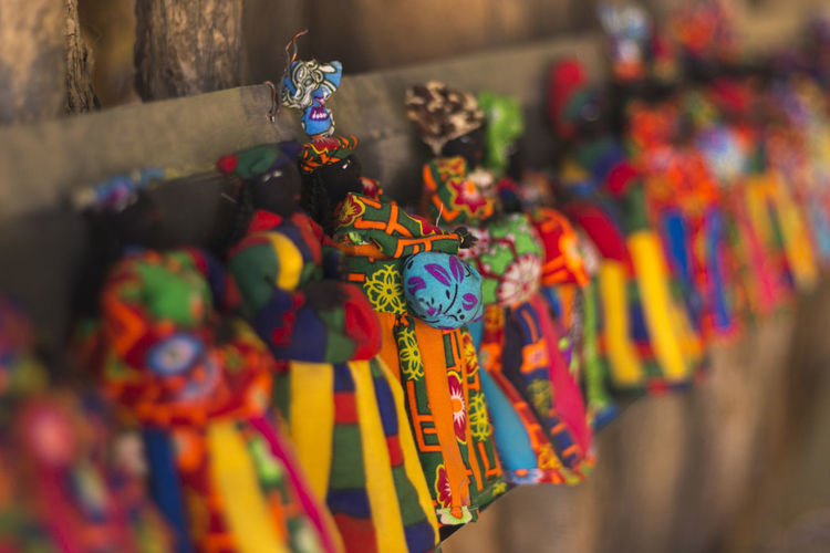 Herero Tribe Namibia Namibia Tribe Abundance Choice Close-up Day For Sale Hanging Herero Large Group Of Objects Market Multi Colored No People Outdoors Retail  Selective Focus Tribe Variation