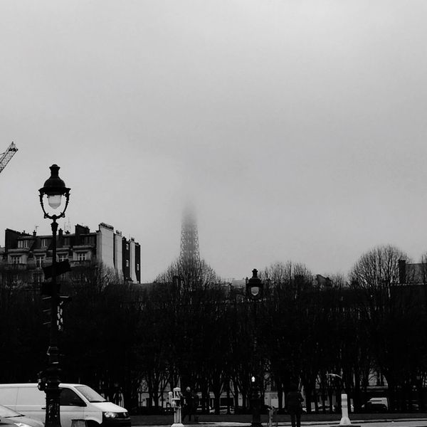 Tour Eiffel Brume Matinale Brume Paris Paris, France  Blackandwhite The Street Photographer - 2017 EyeEm Awards