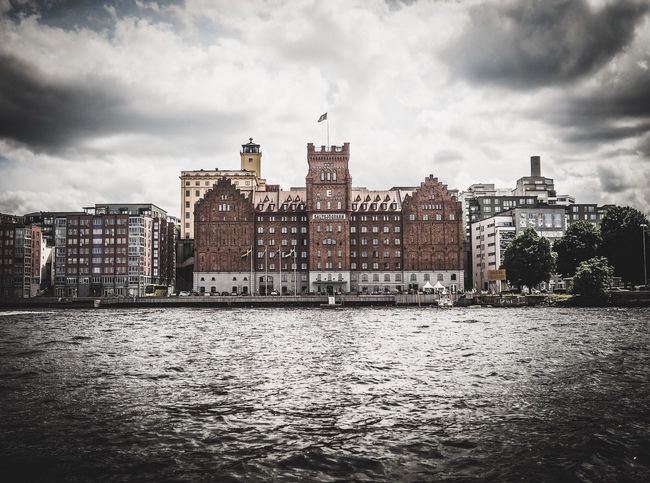 Stockholm Stockholm, Sweden Sweden Waterscape Cityscapes Cityscape City Travel Traveling Travel Photography In Front Of Me Building Buildings Buildings & Sky Architecture Old Buildings OlympusPEN Olympus倶楽部 Olympus Olympus Epl7 Olympuseurope Getolympus Clouds And Sky Sightseeing From My Point Of View