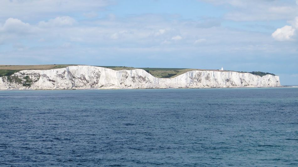 White Cliffs Of Dover White Cliffs  Dover England Kent English Channel Ferry Crossing North Sea Chalk Seeing The Sights Landmarks Landmark The White Cliffs Dover England Sea Beach Erosion Falling Countryside Heritage National Park Park Scenery Horizon Cliffs