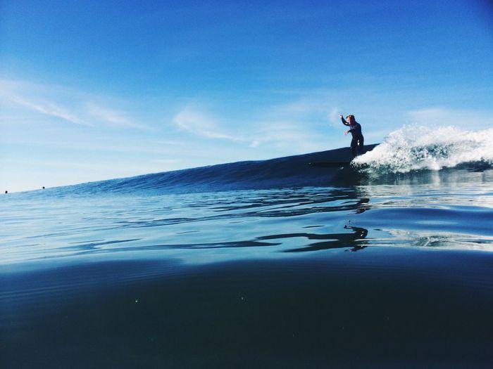 Ocean Wave Surf