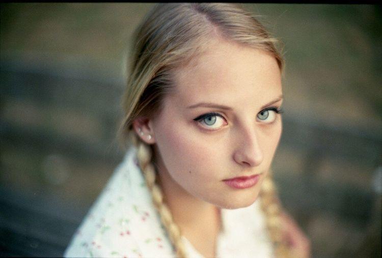 The Portraitist - 2016 EyeEm Awards GERMANY🇩🇪DEUTSCHERLAND@ German Girl Blonde Portrait Of A Woman Eye For Photography Analogue Photography Braids Blue Eyes Blau Augen Eyemphotography