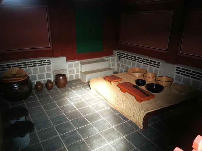 Indoors  High Angle View No People Day Traditional Korean Kitchen Ancient Civilization Seoul, Korea